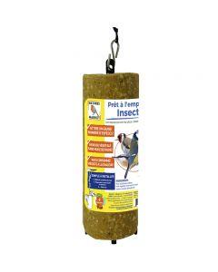 cylindre de graisse aux insectes pour oiseaux prêt à l'emploi